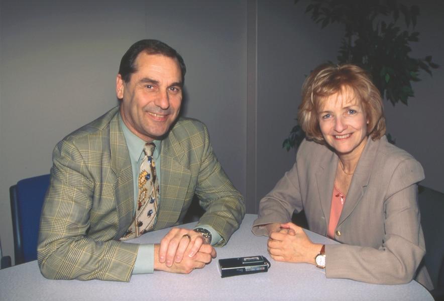 En 1997, c'est à l'animateur que Claire Lamarche avait raconté son malaise vécu en direct durant le débat des chefs.