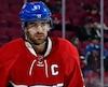 Max Paciorrety, capitaine du Canadien de Montréal depuis 2015.