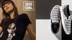 Image principale de l'article La collection de Vans x KARL LAGERFELD est maintenant disponible