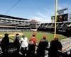 Même sans toit, le Target Field fait la joie des amateurs de baseball au Minnesota.
