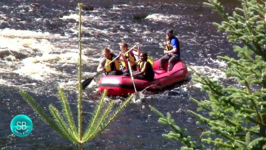 Du rafting au Parc national de la Jacques-Cartier