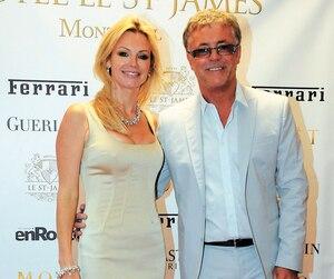 Caroline Néron et Jean-Marc Gagné lors d'un événement tenu à l'hôtel Saint-Jamesà l'occasion du Grand Prix du Canada, en juin 2011.