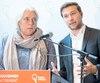 Lors d'une conférence de presse, hier, à Montréal, Manon Massé et Gabriel Nadeau-Dubois ont démontré leur détermination.