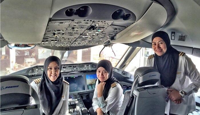 Brunei Female Pilots