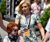 Jane Krakowsi a passé le week-end du Grand Prix à Montréal le mois dernier, en compagnie de son fils de 6 ans, Bennett Robert Godley.