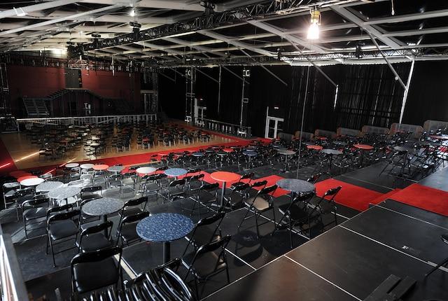 Visite du theatre Vintage de Gregory charles a Quebec, mercredi le 30 octobre 2013.
