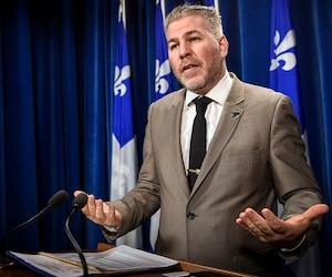 <b>Pascal Bérubé</b><br /><i>Député de Matane du Parti Québécois</i>