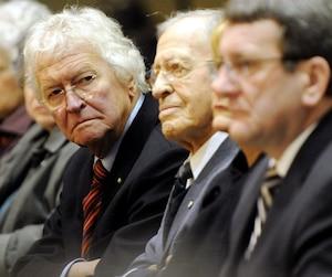 Jean-Paul L'Allier, Gilles Lamontagne et Régis Labeaume