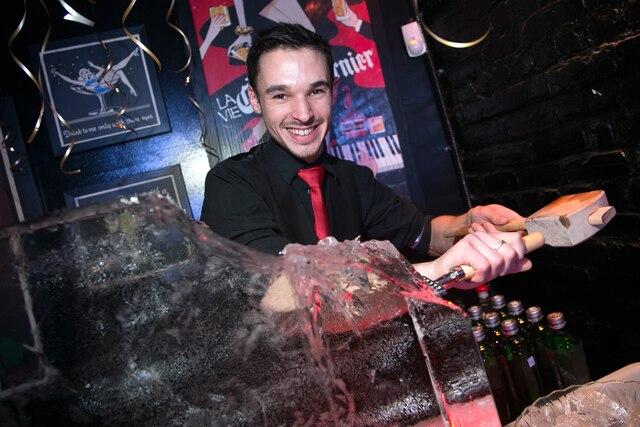 Le chef de bar Nicolas