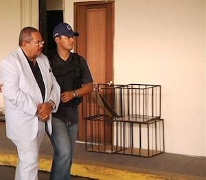 Arrestation d'Arthur Porter