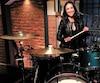 Emmanuelle Caplette enregistre quatre émissions de fin de soirée Late Night with Seth Meyers, à New York, cette semaine.