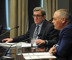 Jonatan Julien, vice-président du comité exécutif de la Ville de Québec, a essuyé une rebuffade de la part du maire, mercredi.