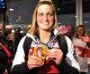 Le Canada a dépassé hier le nombre de médailles remportées à Vancouver, puis à Sotchi. On voit ici Marie-Philip Poulin à son retour, en 2014.