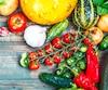 bloc fruit legume frais