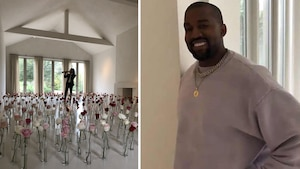 Kanye West fête la Saint-Valentin en grand!