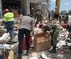 Il y a deux semaines, un tremblement de terre a fait plus de 460 morts.