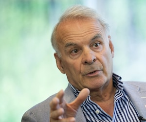 Alain Bouchard, fondateur et président exécutif du conseil d'Alimentation Couche-Tard.