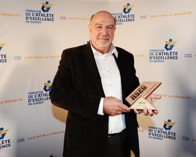 Richard Crevier a été honoré par la Fondation de l'athlète de l'excellence.