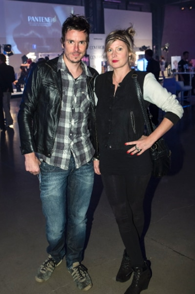 «Je préfère le style à la mode. Je viens m'inspirer, surtout des créations d'Ève Gravel que j'affectionne particulièrement», a confié Justine Laberge accompagnée de son complice d'Alfa Rococo, David Bussières.