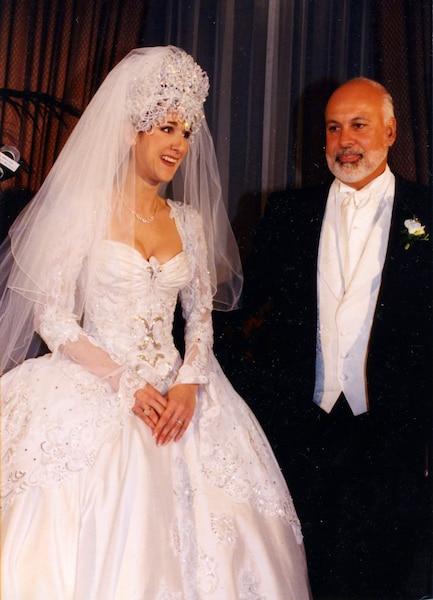 mariage de Céline Dion et René Angelil 17 décembre 1994 PHOTO NORMAND PICHETTE / LES ARCHIVES / LE JOURNAL DE MONTREAL