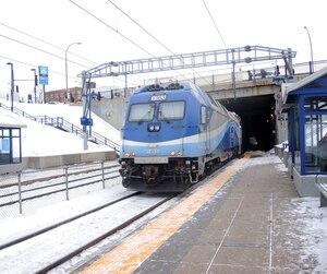 À la gare de Deux-Montagnes, aucun panneau n'informe les usagers que la ligne de train cessera de se rendre au centre-ville à compter de janvier 2020, et ce, jusqu'en 2024.