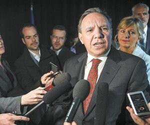 Le premier ministre François Legault.