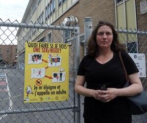 Stéphanie Cohen est la mère d'un jeune garçon autiste de 8 ans qui fréquente l'école Marguerite-Bourgeoys