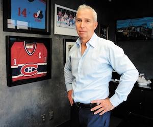 Dans le bureau de Gary Shapiro se trouvent des cadres à l'effigie du Canadien et des Expos de Montréal. «Je ne suis pas antifrançais», précise le militant.