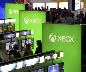 Le kiosque Xbox au E3 2016.