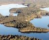 L'île Moukmouk est située à une cinquantaine de kilomètresde Rouyn-Noranda.