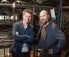 Jeannot Painchaud (à gauche), directeur artistique du Cirque Éloize, a fait appel à son cousin Éloi Painchaud pour la création de la trame musicale de la 11e production de la compagnie.