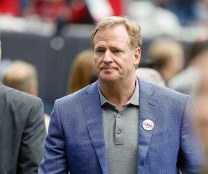 Le commissaire de la NFL Roger Goodell