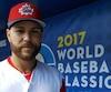 Russell Martin a agi à titre d'instructeur de l'équipe canadienne à la Classique mondiale de baseball.