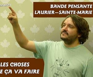 Julien Bernatchez est connu pour son personnage de Bande Pensante.