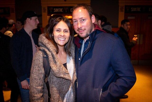 Korine Côté et son copain Simon