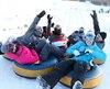 Des conditions inespérées étaient au rendez-vous à l'occasion du lancement de la saison de glisse au Village Vacances Valcartier, samedi.