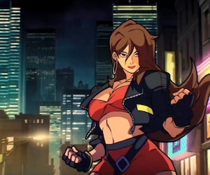 Blaze Fielding, une des combattantes de Streets Of Rage 4.