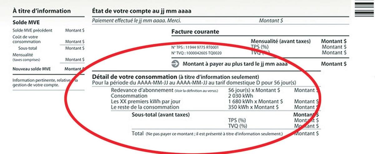 Le hold-up d'Hydro: tarif résidentiel de 17¢ le kWh