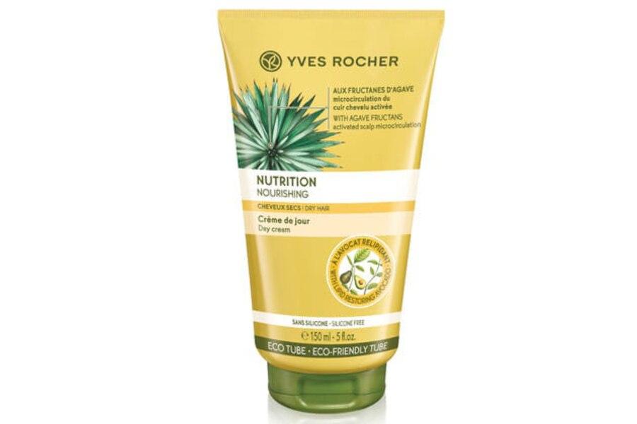 Crème de jour Nutrition cheveux secs, Yves Rocher, 19$ les 150 ml