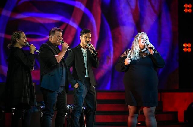 Éléonore Lagacé, Maxime Landry, Michaël et Vanessa Duchel forment un solide quatuor.