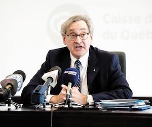 Le président et chef de direction de la Caisse de dépôt, Michael Sabia.
