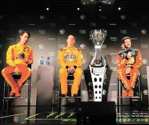 Joey Logano, Kyle Busch, Martin Truex fils et Kevin Harvick se disputeront le titre en Coupe Monster Energy