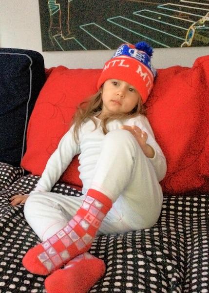 Eva Altamirano, 3 ans