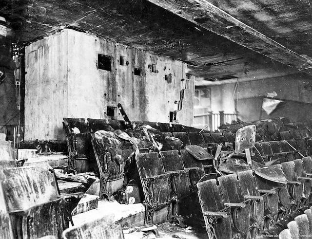 La photographie des scènes de sinistres à fins d'enquête commençait tout juste pendant les années 1920.