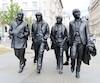 Ces statues, âgées de seulement deux ans, sont déjà emblématiques de Liverpool.