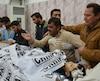 Les violences sont courantes à Quetta. Sur la photo: des proches pleurent le meurtre d'un policier et de sa famille, le 15 novembre.
