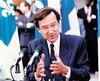 Le 25 juin 1990, le premier ministre du Québec, Robert Bourassa, tenait une conférence de presse à la suite de l'annonce de l'échec de l'accord du lac Meech.
