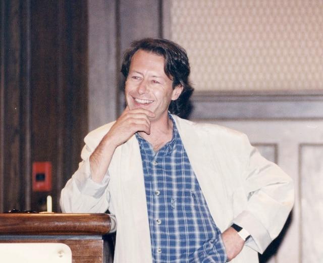 Michel Brazeau en 1994