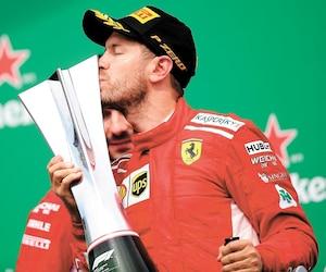 Sebastian Vettel a dominé le Grand Prix du Canada du début à la fin.