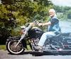 Le curé Donald Lauzière était surnommé «le pape à moto» par les paroissiens.